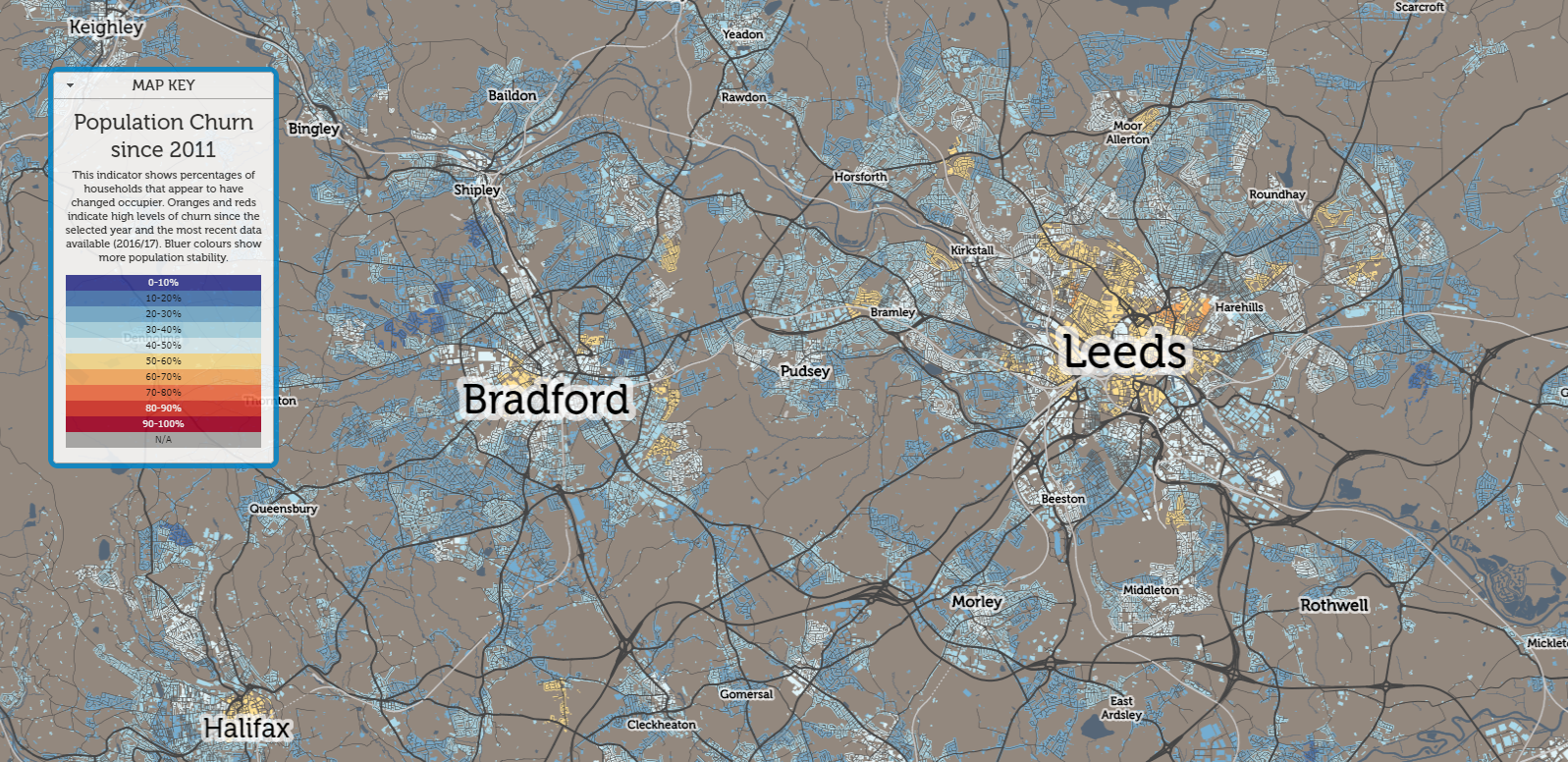 Leeds since 2011