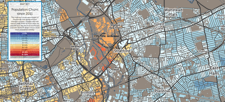Stratford since 2011